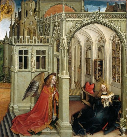 Prado: Campin, Annunciation