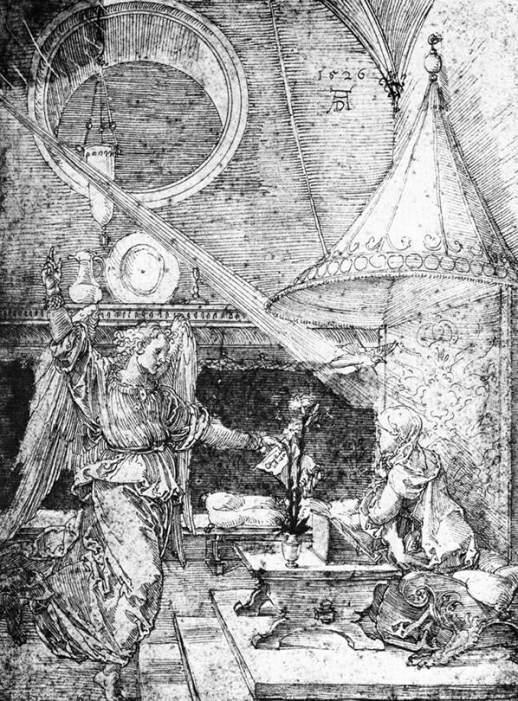 Dürer, pen drawing