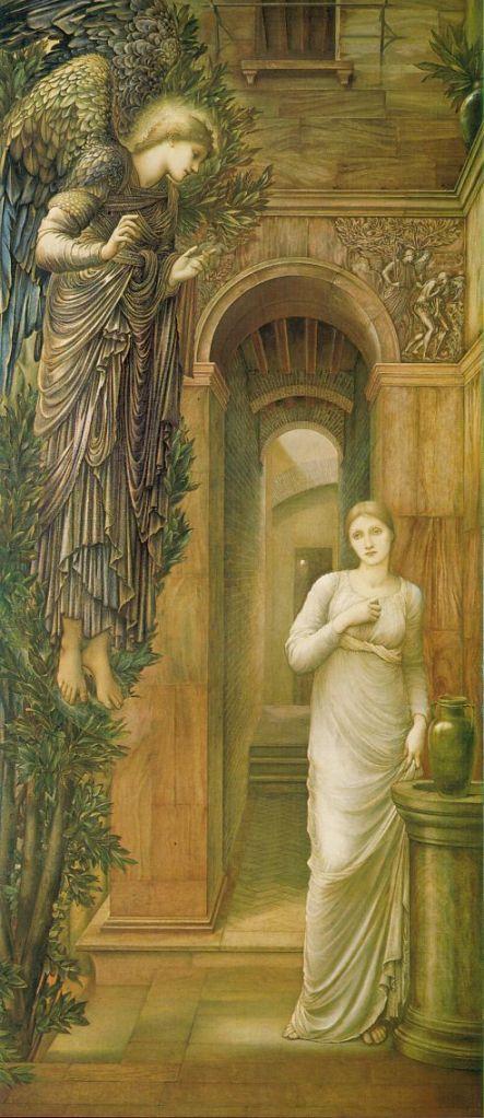 Edward Burne-Jones, The Annunciation (1879)