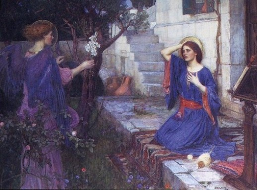 Waterhouse, The Annunciation